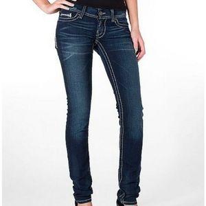 BKE Stella Skinny Stretch Thick Stitch Jeans 26